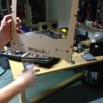Kuva Ultimaker-tulostimen osasta