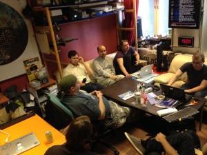 SATS-delegaatio Hacklabin vieraana