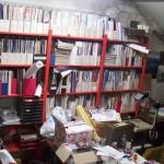 vielä enemmän kirjahyllyä satsin tiloissa