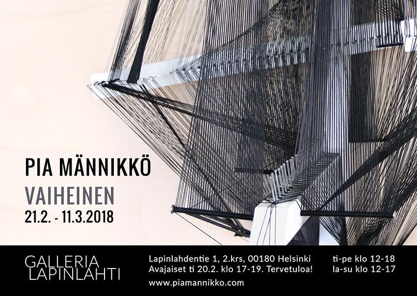 Pia Männikkö: Vaiheinen (Galleria Lapinlahti)
